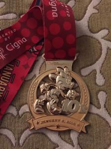 runDisney 10K Medal