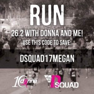 Use code dsquad17megan to save $5!