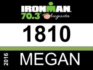 Race bib number 1810