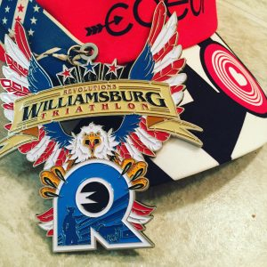 Rev 3 Williamsburg Race Medal